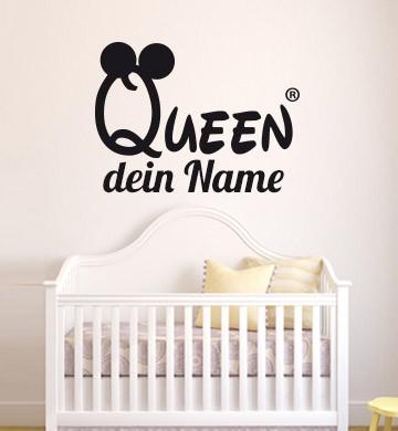Gestalte Dein Individuelles Wandsticker Mit Deinem Wunschnamen Und Wunschfarbe Kinderzimmer