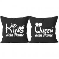 King And Queen Kissen Selbst Gestalten