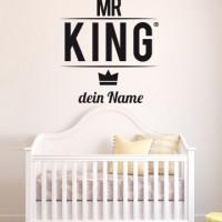 Mr. King Wandtattoo Selbst Gestalten